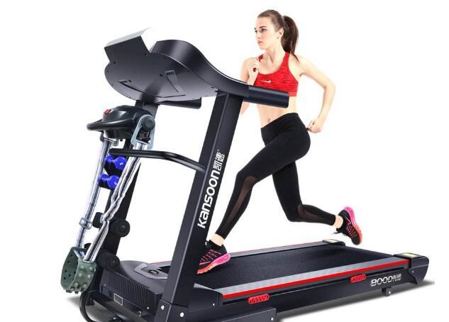 借助跑步机减肥