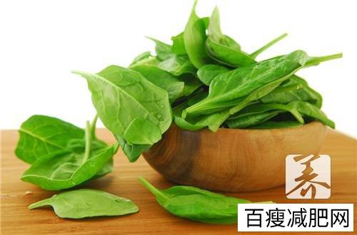 吃水煮菠菜减肥吗